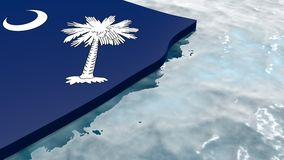South carolina stock illustration