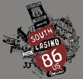 south casino Stock Photos