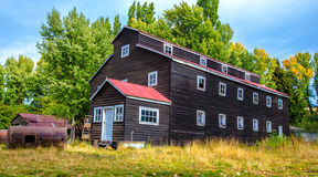 South Chile Architecture. Aysen region stock image