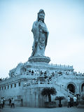 The South China Sea a Buddism goddess Guanyin Stock Photography