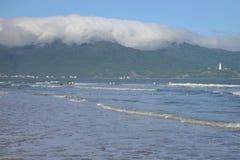 South China Sea near the beach in Da Nang, Vietnam Royalty Free Stock Images
