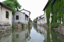 South China Village. The town in south china was knows as the most beautiful royalty free stock photo