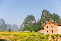 South China Village Royalty Free Stock Photo