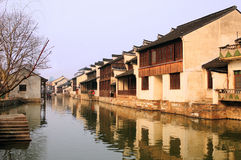 South China  Village  landscapes Stock Photo
