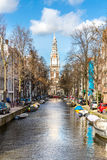 South Church Zuiderkerk Amsterdam Royalty Free Stock Photo