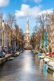 South Church Zuiderkerk Amsterdam Royalty Free Stock Photo