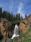 South Clear Creek Falls. In Colorado Stock Photography