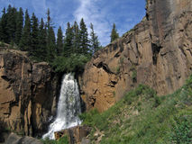 South Clear Creek Falls. In Colorado Stock Images