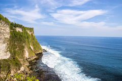 South Coast of Bali. View looking out at the most southern point in Bali, Indonesia Stock Photos