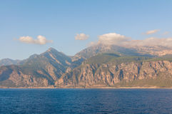 The south coast of Crete Stock Photography