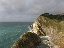 South Coast of England. The South Coast of England, also know as Jurassic coast Stock Image