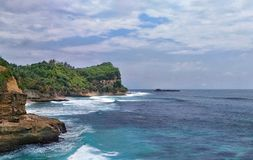South coast of java Royalty Free Stock Photography