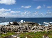 The south coast of Kangaroo island in Australia Royalty Free Stock Photo