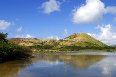 South coast lake St kitts. South coast lake in St kitts, the West Indies Royalty Free Stock Photos