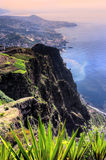 South coast of Madeira island Stock Image