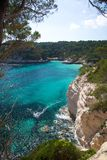 South coast of Menorca Royalty Free Stock Photo