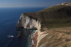 South coast path in Dorset Stock Photos