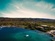 South coast of Puerto Rico Stock Images