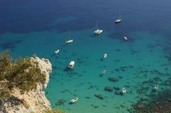 South coast in Sardinia stock photos