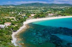 South coast of Sardinia Stock Photos