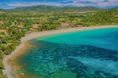 South coast of Sardinia Stock Images