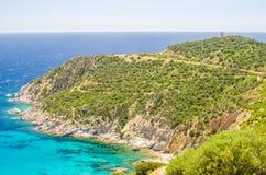 South coast of Sardinia Royalty Free Stock Image