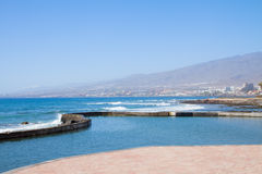 South coast of  Tenerife, Spain Royalty Free Stock Image