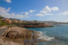 South coast of Tenerife, Spain Royalty Free Stock Photography