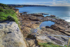 South Coogee views looking north towards Eastern suburbs Sydney Stock Photos