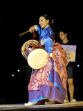 South corean musician. 11 this year by the Denizli Municipality The festival began with a march of stay at the International Folk Dance Festival, the dancers Stock Photo