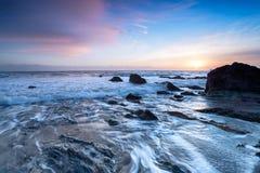 South Cornwall Coastline Stock Image