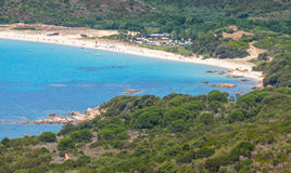 South Corsica, bright summer coastal landscape Stock Images