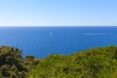 South Corsica coast. Royalty Free Stock Photos