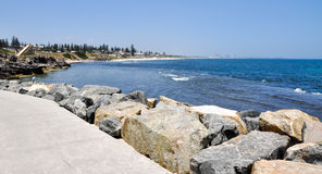 South Cottesloe Beach: Indian Ocean royalty free stock photos