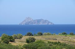 South Crete near Matala Stock Photography