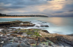 South Curl Curl seascape Stock Photos