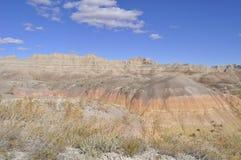 South- Dakotaödländer nähern sich Kieferridge-indischer Reservierung Lizenzfreies Stockfoto