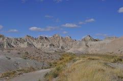 South- Dakotaödländer nähern sich Kieferridge-indischer Reservierung Stockfotos