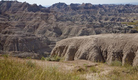 South Dakota. View of Badlands National Park, in South Dakota Stock Photos