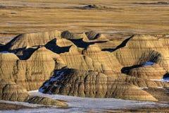 South Dakota Badlands. USA scenic Stock Image