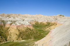 South Dakota Badlands Stock Photography