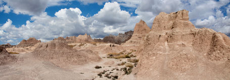 South Dakota Badlands Royalty Free Stock Image