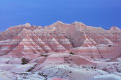 South Dakota Badlands Stock Image