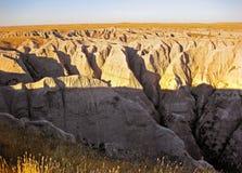 South Dakota Badlands Arkivfoto