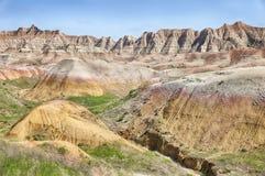South Dakota Badlands Landscape Stock Images