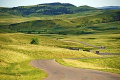 South Dakota Landscape stock photo
