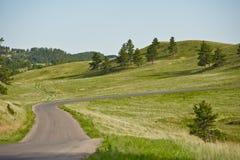 South Dakota landskap royaltyfri fotografi