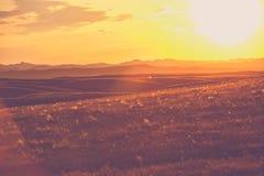 South Dakota prärier fotografering för bildbyråer