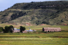 South Dakota Ranch. A ranch in the Black Hills of South Dakota Royalty Free Stock Photo