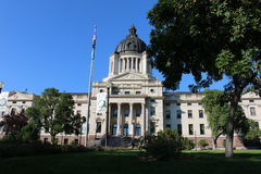 South Dakota State Capitol building. In Pierre Stock Photography